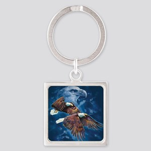 ip000662_1eagles3333 Square Keychain