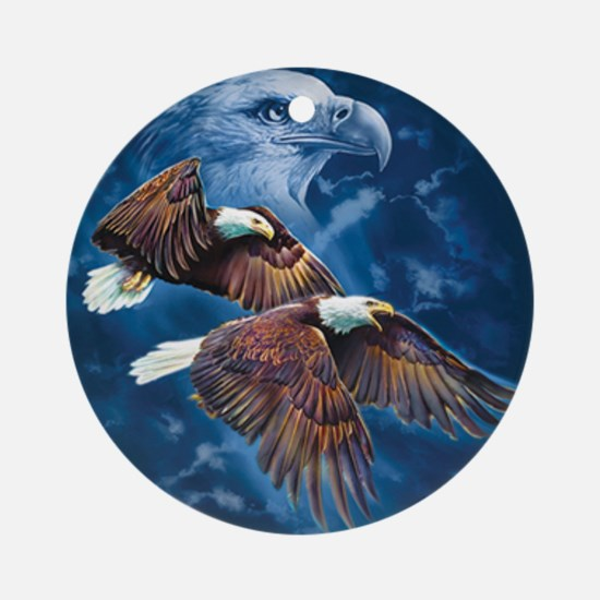 ip000662_1eagles3333 Round Ornament