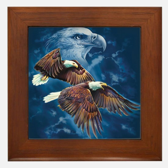 ip000662_1eagles3333 Framed Tile