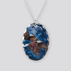 ip000662_1eagles3333 Necklace Oval Charm
