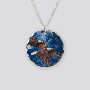 ip000662_1eagles3333 Necklace Circle Charm