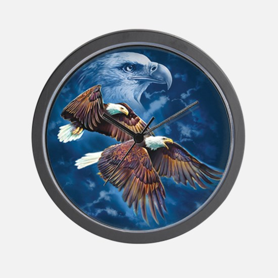ip000662_1eagles3333 Wall Clock