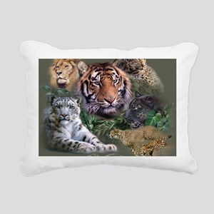 ip001528catsbig cats3333 Rectangular Canvas Pillow