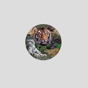 ip001528catsbig cats3333 Mini Button