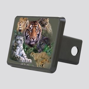 ip001528catsbig cats3333 Rectangular Hitch Cover