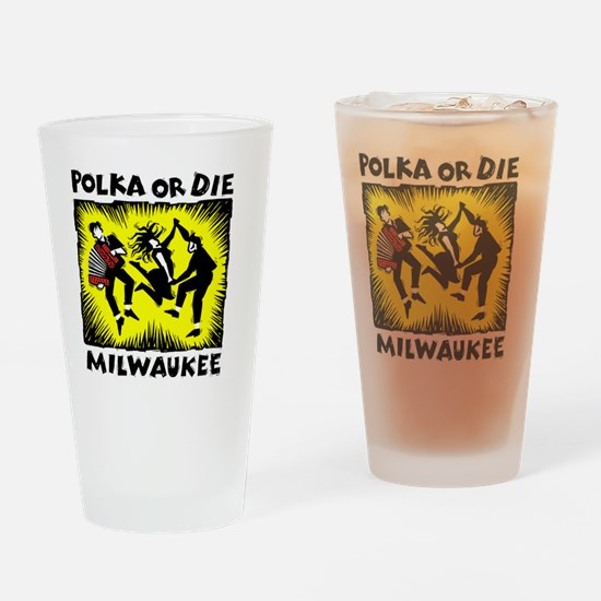 New Polka or Die Drinking Glass