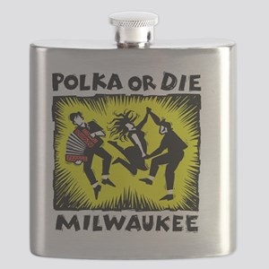 New Polka or Die Flask