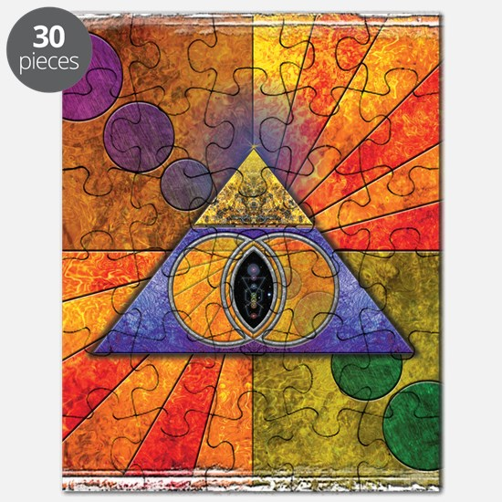 Sacred Pyramid Puzzle