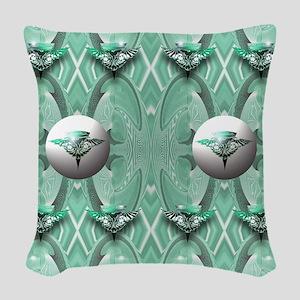 romulan Woven Throw Pillow