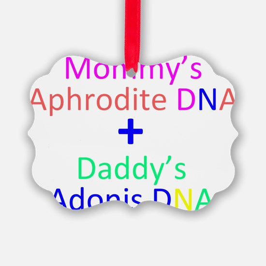 Mommy + Daddy Ornament