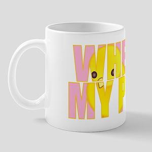 wheres my peeps Mug