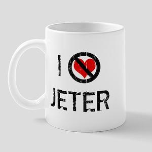 I Hate JETER Mug