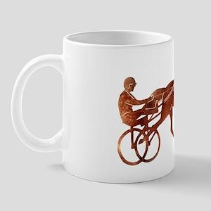 BrownPacerSilhouette Mug