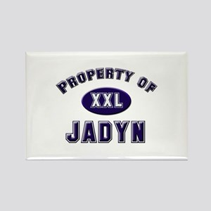 Property of jadyn Rectangle Magnet