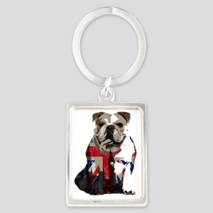 best of british Portrait Keychain