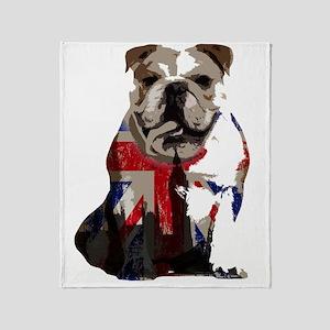 best of british Throw Blanket