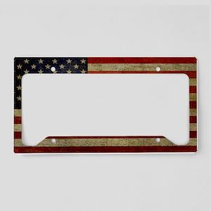 license-plate_antique-flag License Plate Holder