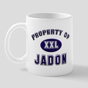 Property of jadon Mug