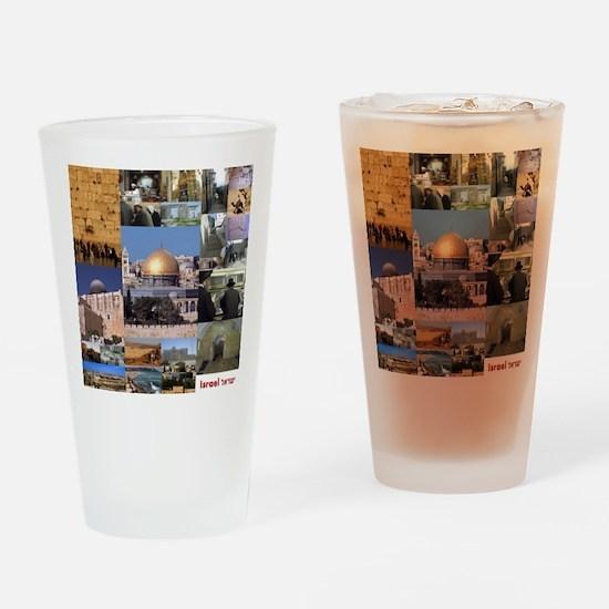 Eretz Israel Drinking Glass
