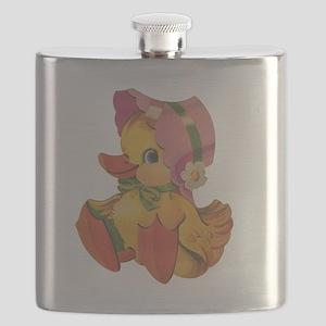 VintageEasterDucky Flask