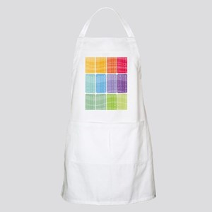 times table multiplication rainbow vivid Apron