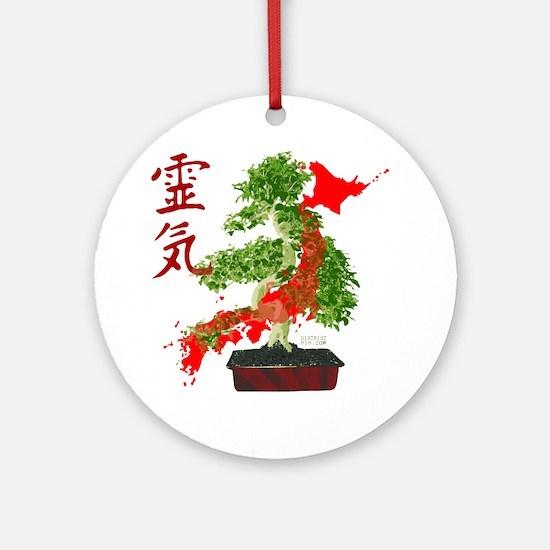 japanrelief2011_43 Round Ornament