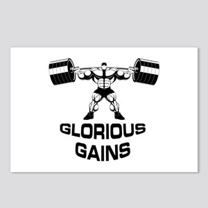 Glorious Gains Postcards (Package of 8)