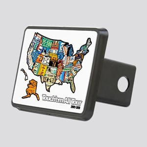 TouchemAllTee-F USMapPlate Rectangular Hitch Cover