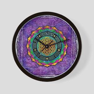 Awakening Consciousness Wall Clock
