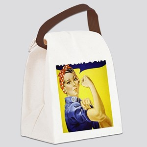 WeCanDoItPoster1 Canvas Lunch Bag