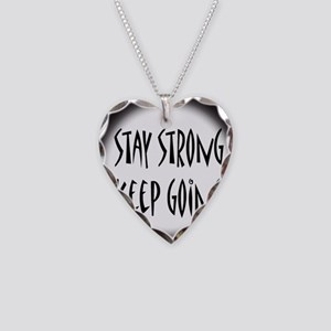 cp_staystrong Necklace Heart Charm