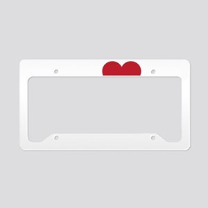 thegayswhite License Plate Holder
