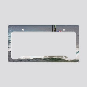 connecticut greeting card License Plate Holder