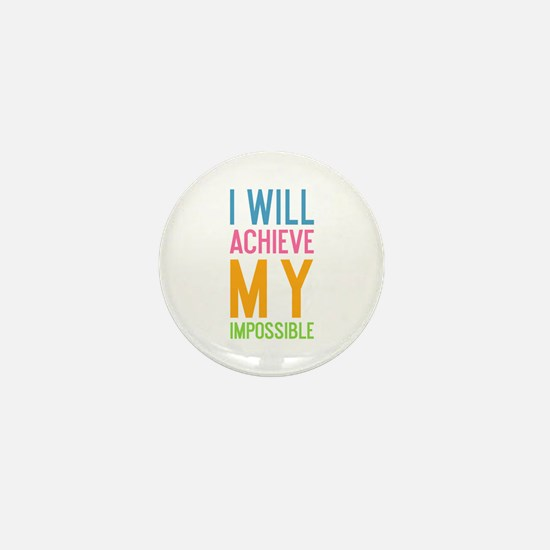 Funny Inspiring quote Mini Button (10 pack)