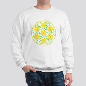 Daffodils Mandala Sweatshirt
