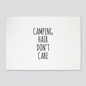 Camp Hair Dont Care 5'x7'Area Rug