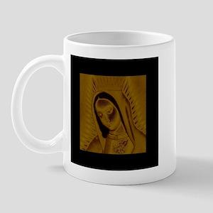 Virgen de Guadalupe - Gold Mug