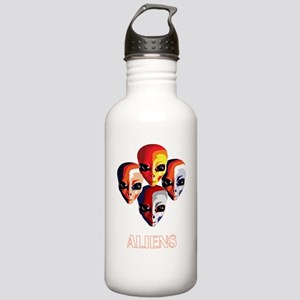 The Aliens_final_dark Stainless Water Bottle 1.0L