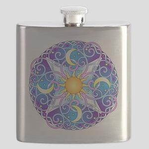 Celestial Mandala Flask