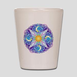 Celestial Mandala Shot Glass