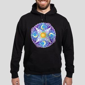 Celestial Mandala Hoodie (dark)