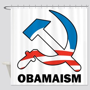Obamaism Shower Curtain