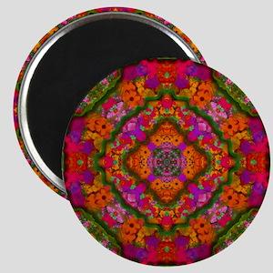 20110302-Garden-Kaleidoscope-v002-sig-v01 Magnet