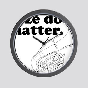 Size does matter 1 Wall Clock