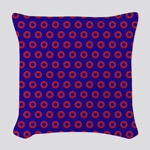 Phancy Woven Throw Pillow