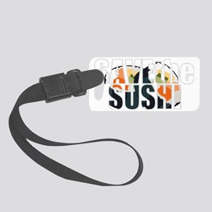 sushi2 Small Luggage Tag
