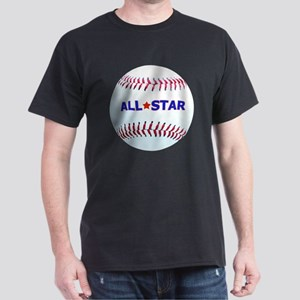 Baseball All-Star T-Shirts For Kids Dark T-Shirt