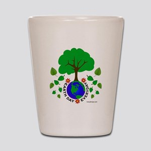 earthdayeveryday Shot Glass