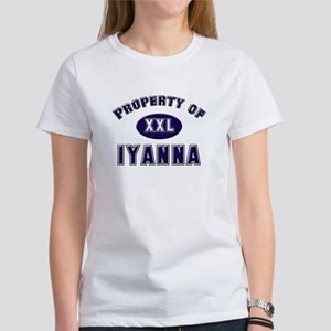 Property of iyanna Women's T-Shirt