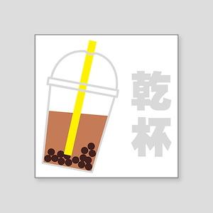 "Cheers! Square Sticker 3"" x 3"""